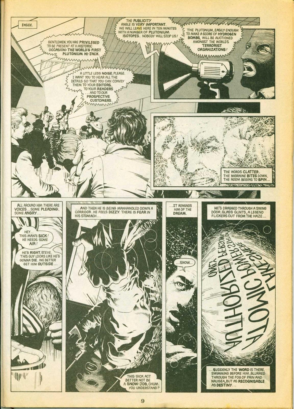 Warrior Issue #1 #2 - English 9