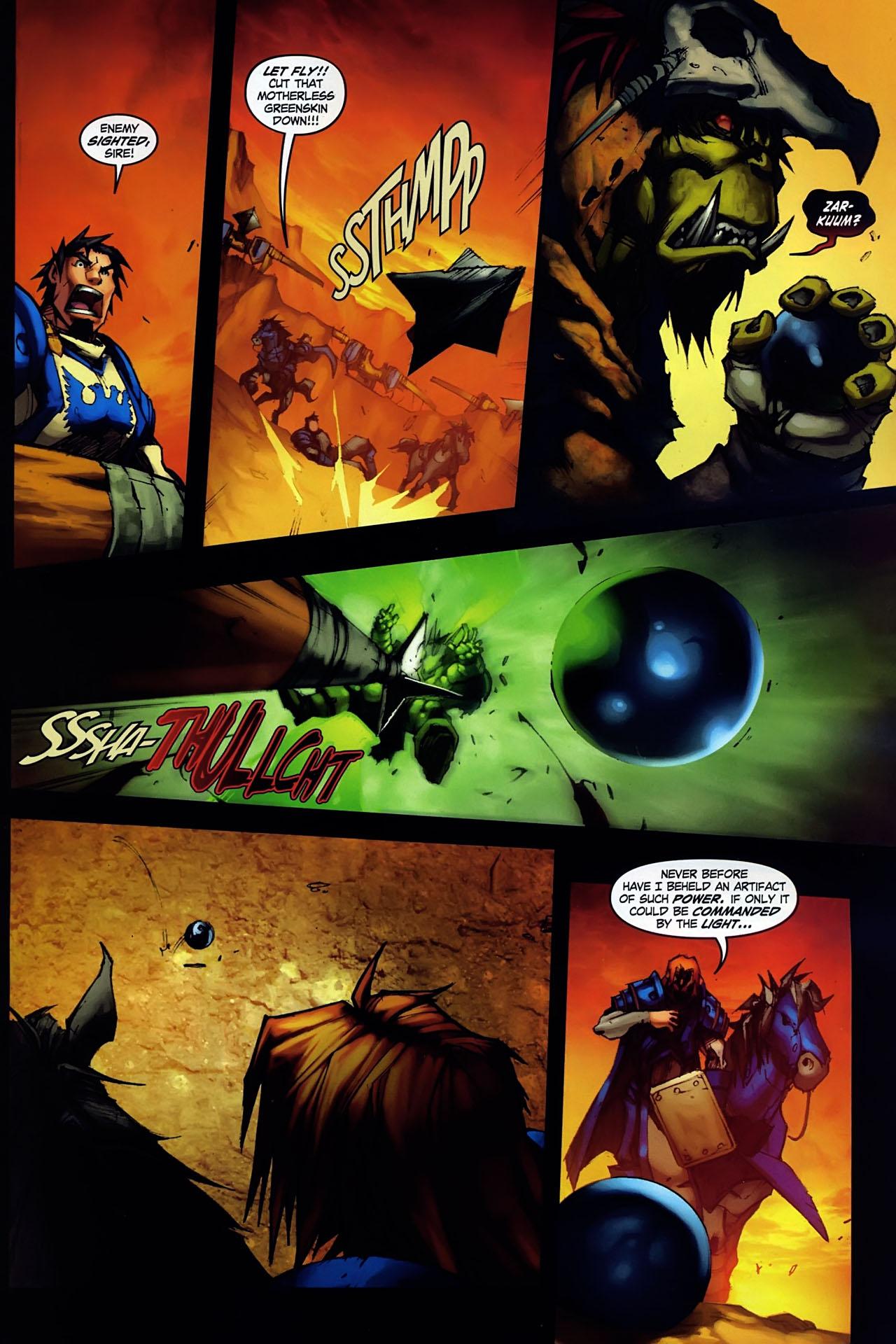 Read online World of Warcraft: Ashbringer comic -  Issue #1 - 6