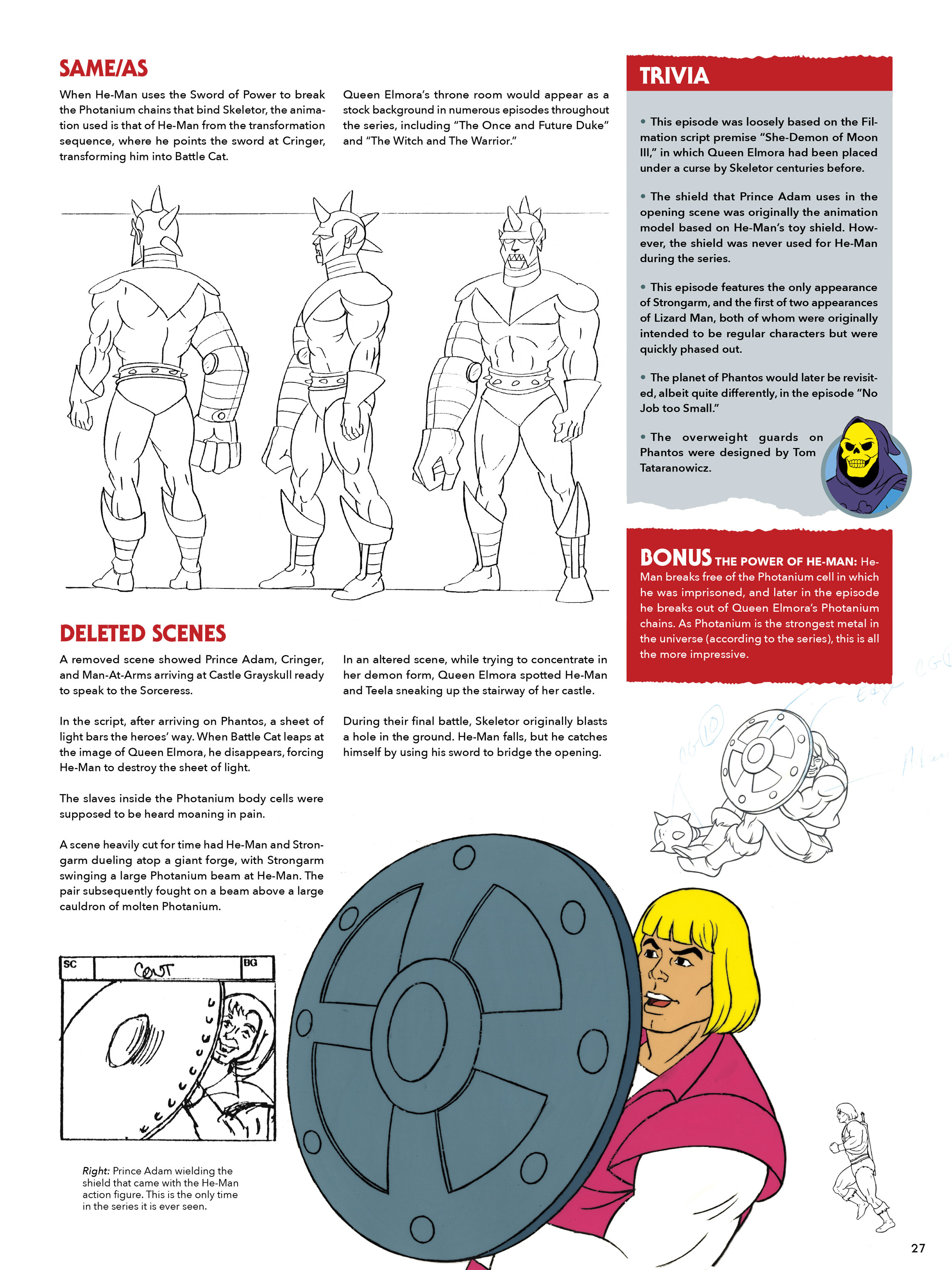 Read online He-Man and She-Ra: A Complete Guide to the Classic Animated Adventures comic -  Issue # TPB (Part 1) - 27