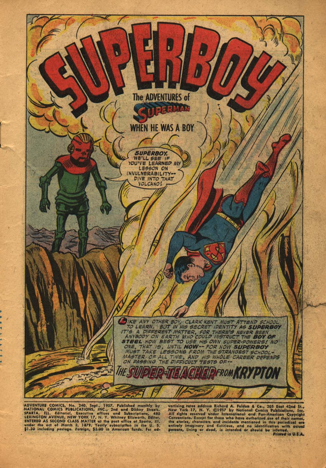 Read online Adventure Comics (1938) comic -  Issue #240 - 3