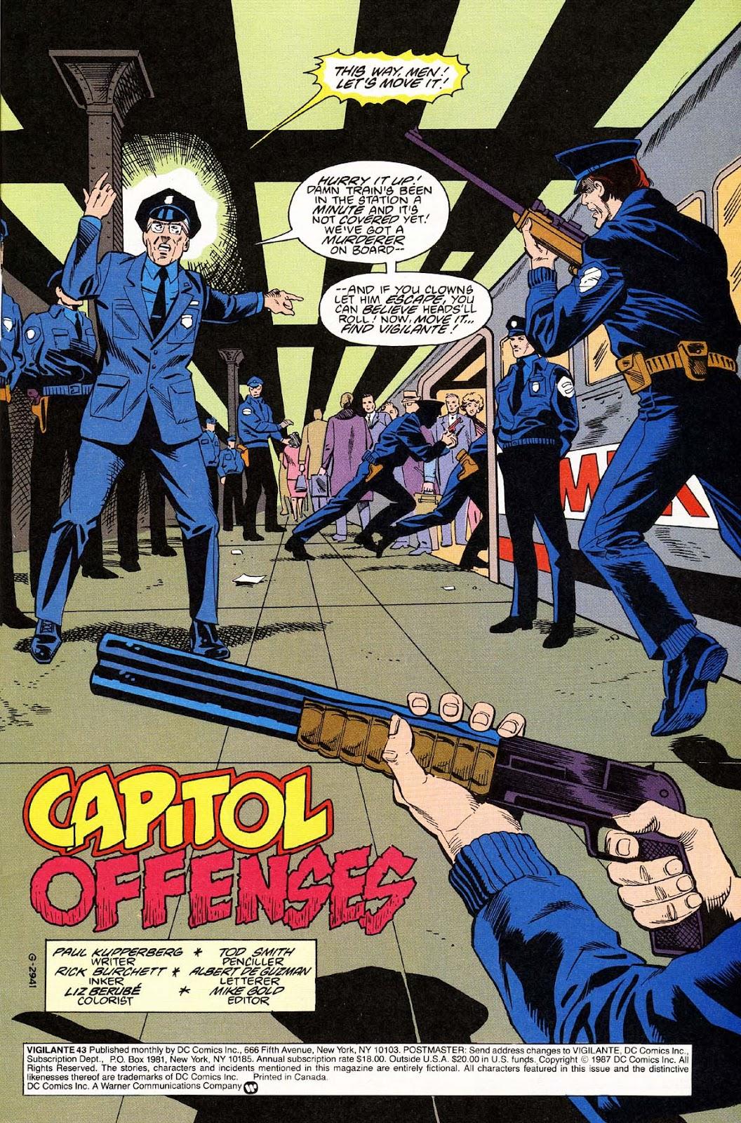 Vigilante (1983) issue 43 - Page 3
