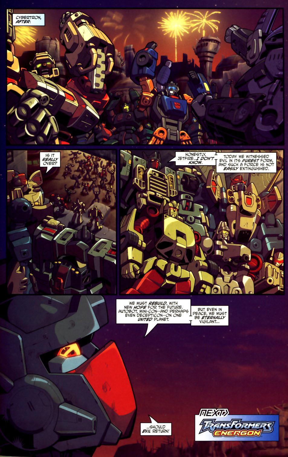 Read online Transformers Armada comic -  Issue #18 - 23