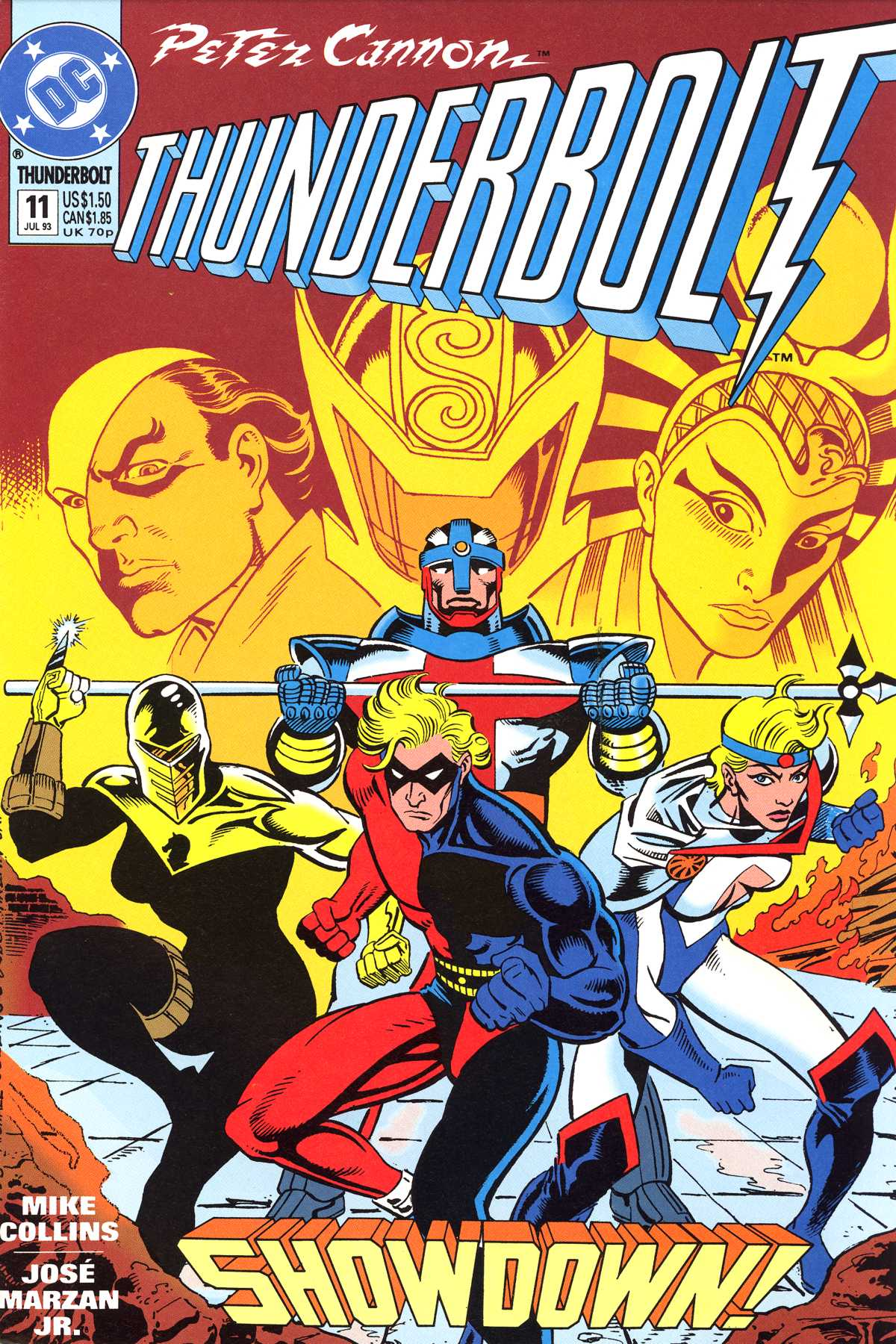 Read online Peter Cannon--Thunderbolt (1992) comic -  Issue #11 - 1