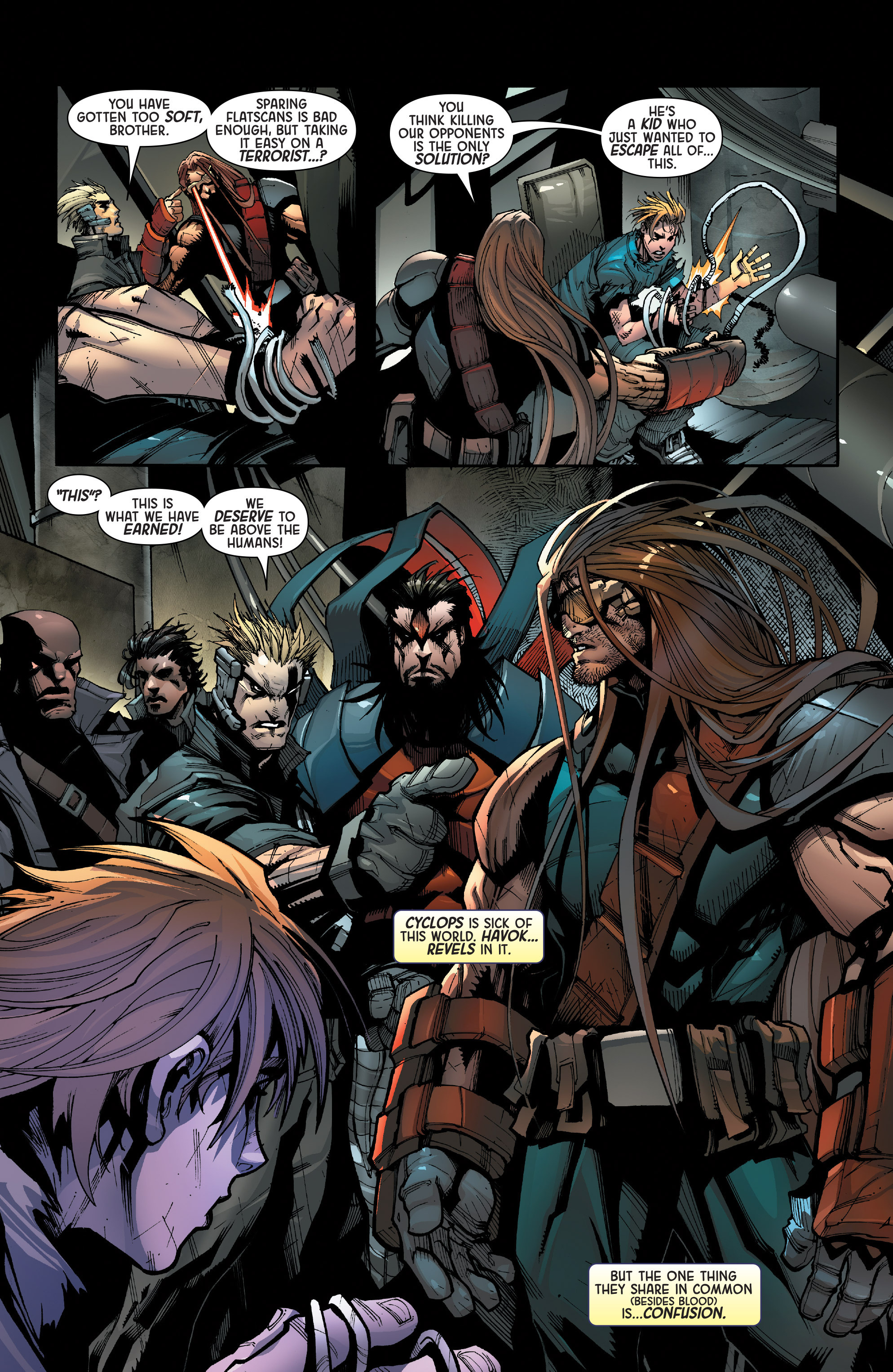 Read online Age of Apocalypse (2015) comic -  Issue #1 - 21