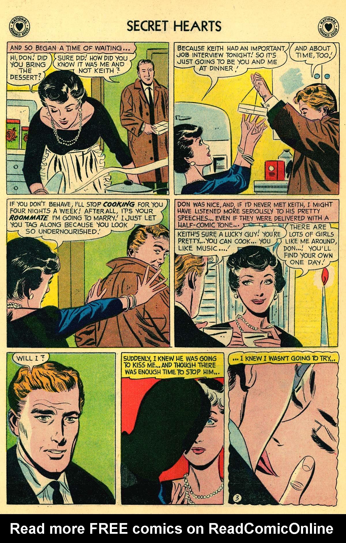 Read online Secret Hearts comic -  Issue #55 - 22