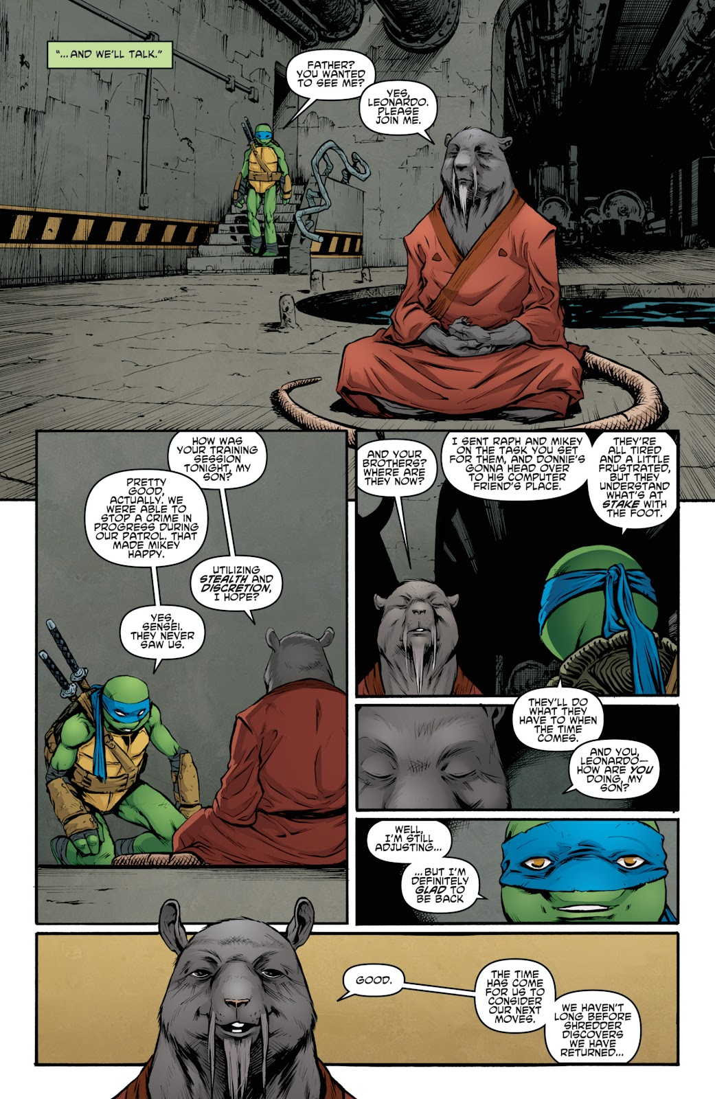 Read online Teenage Mutant Ninja Turtles: The IDW Collection comic -  Issue # TPB 4 (Part 3) - 27