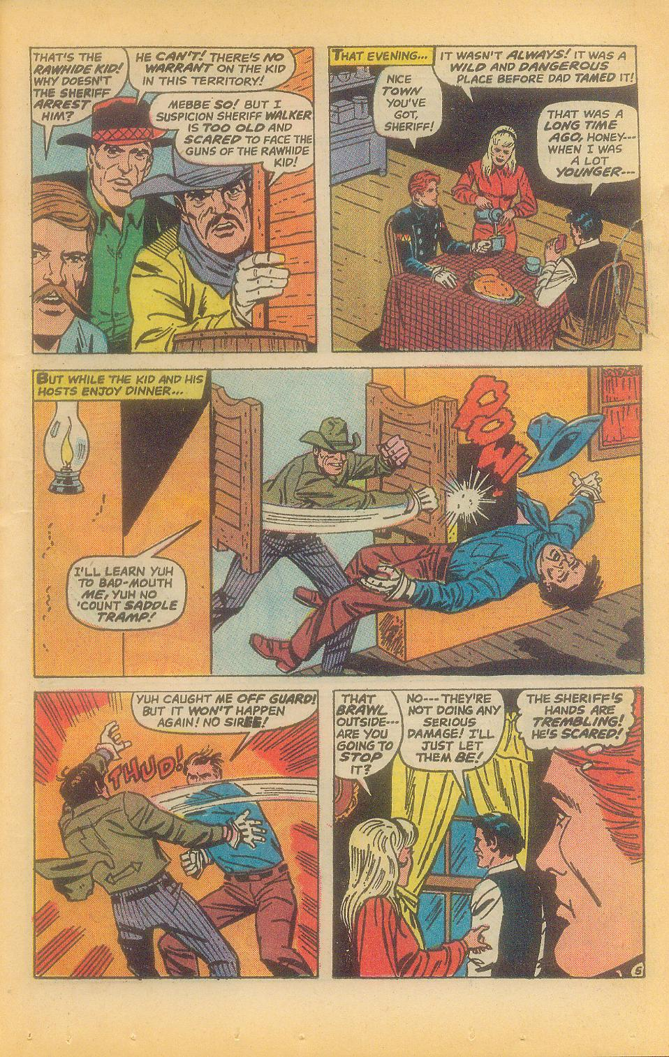 The Rawhide Kid (1955) issue 92 - Page 7