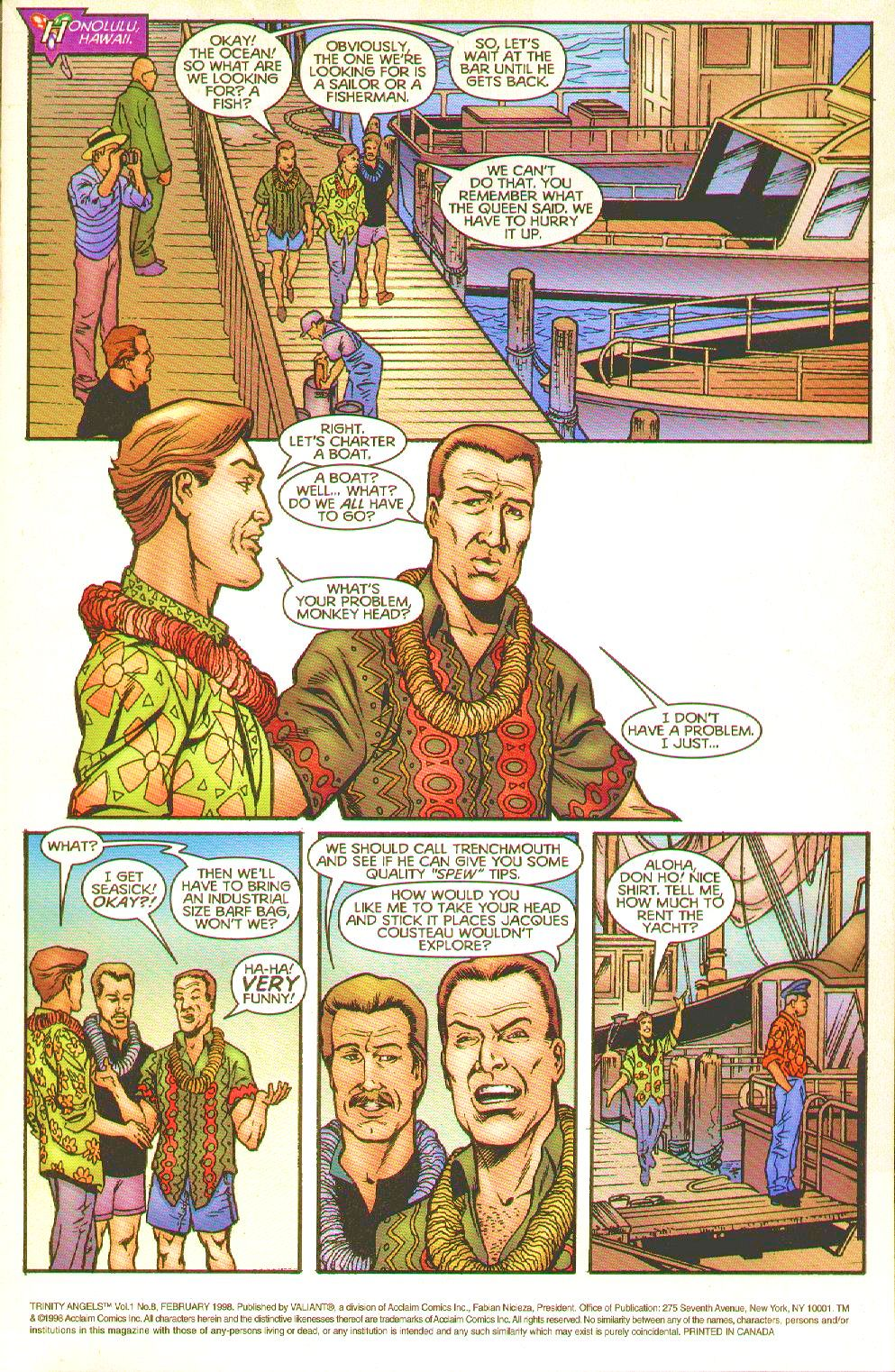 Read online Trinity Angels comic -  Issue #8 - 3