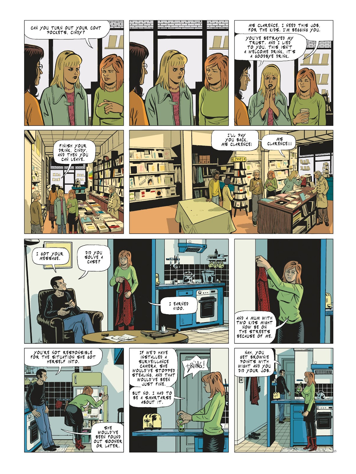 Read online Maggy Garrisson comic -  Issue #3 - 25