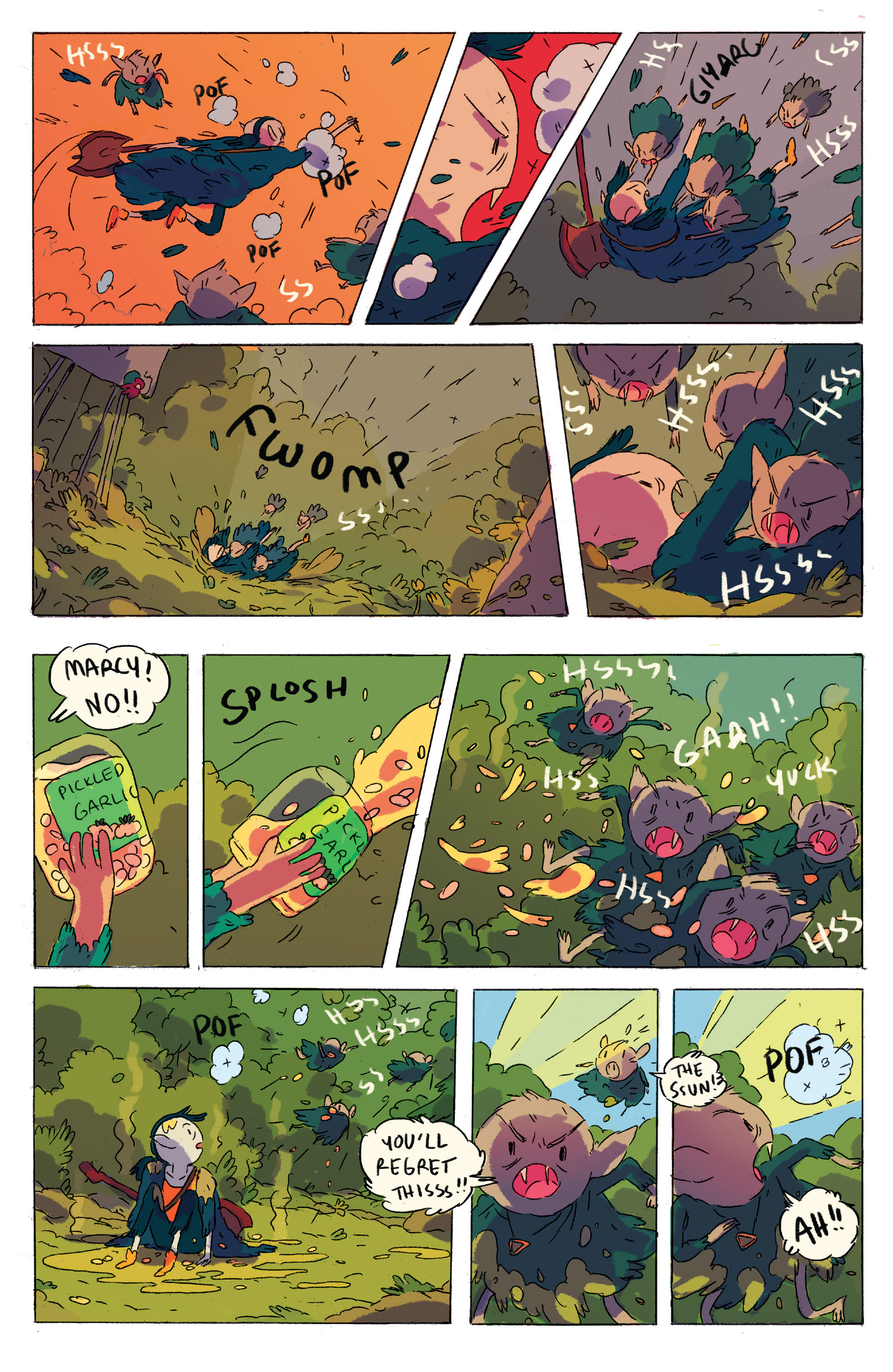 Read online Adventure Time comic -  Issue # _2015 Spoooktacular - 17