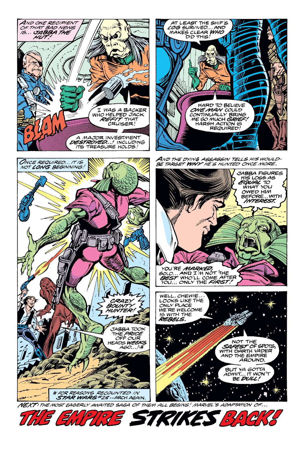 Read online Star Wars Legends: The Original Marvel Years - Epic Collection comic -  Issue # TPB 2 (Part 3) - 93