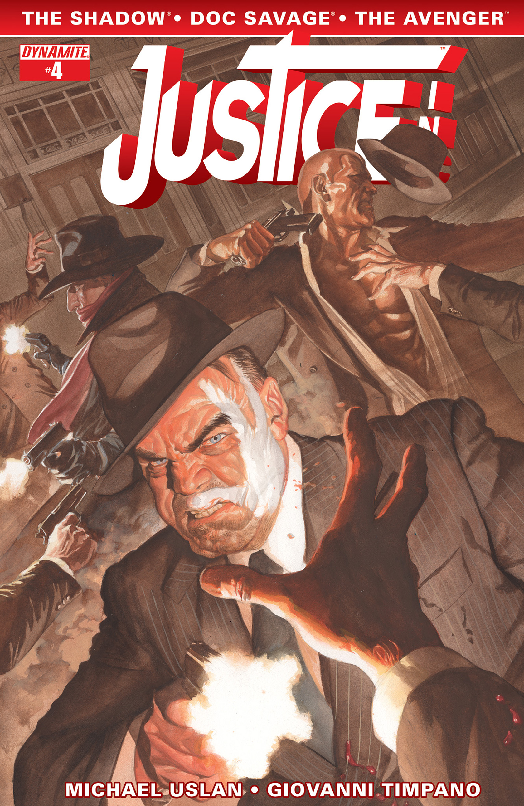 Read online Justice, Inc. comic -  Issue #4 - 1