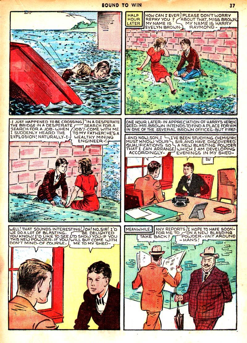 Read online Shadow Comics comic -  Issue #7 - 30