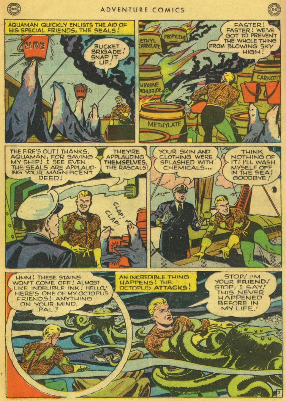 Read online Adventure Comics (1938) comic -  Issue #134 - 30