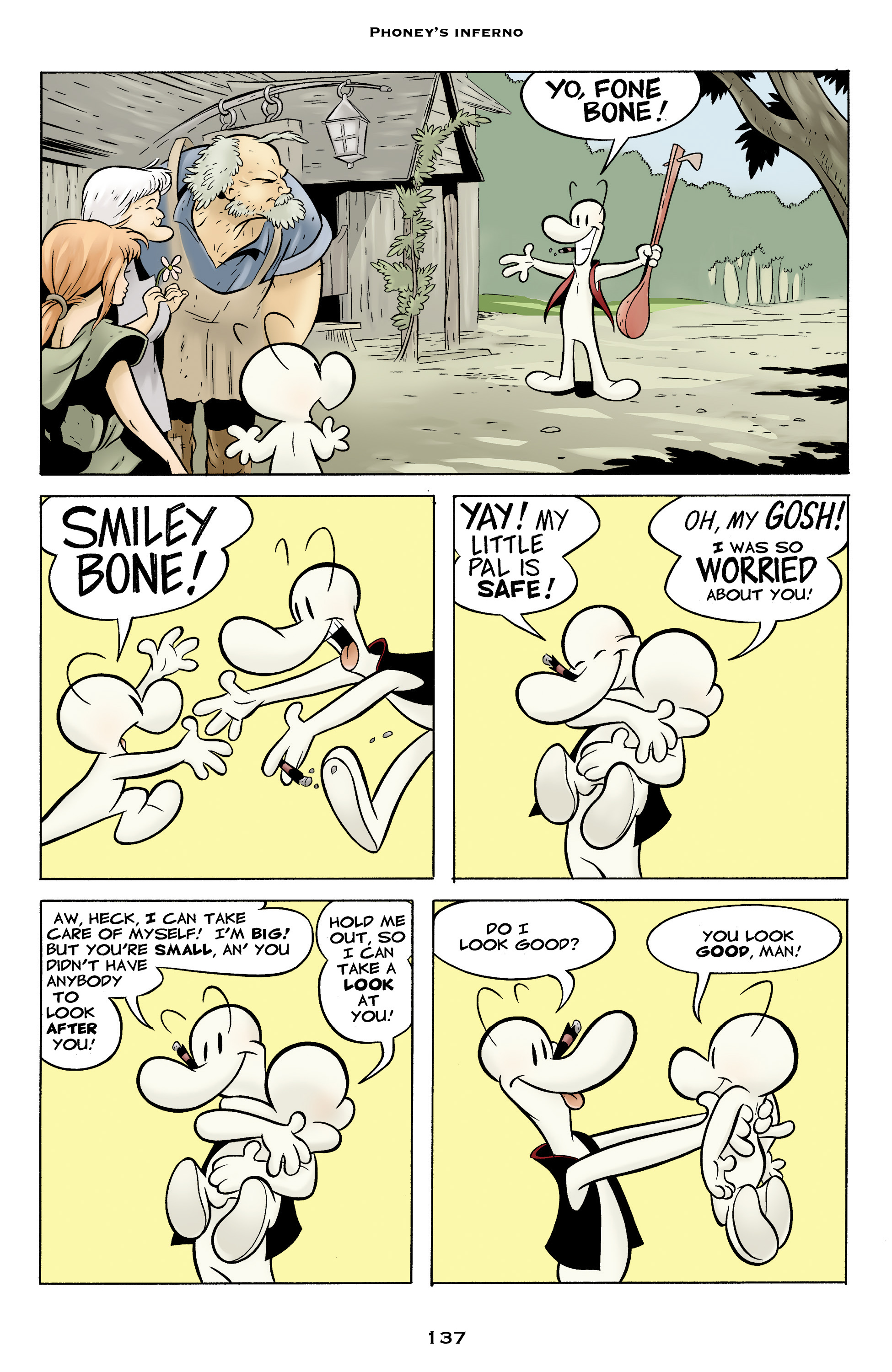 Read online Bone: Out From Boneville comic -  Issue # TPB - 137