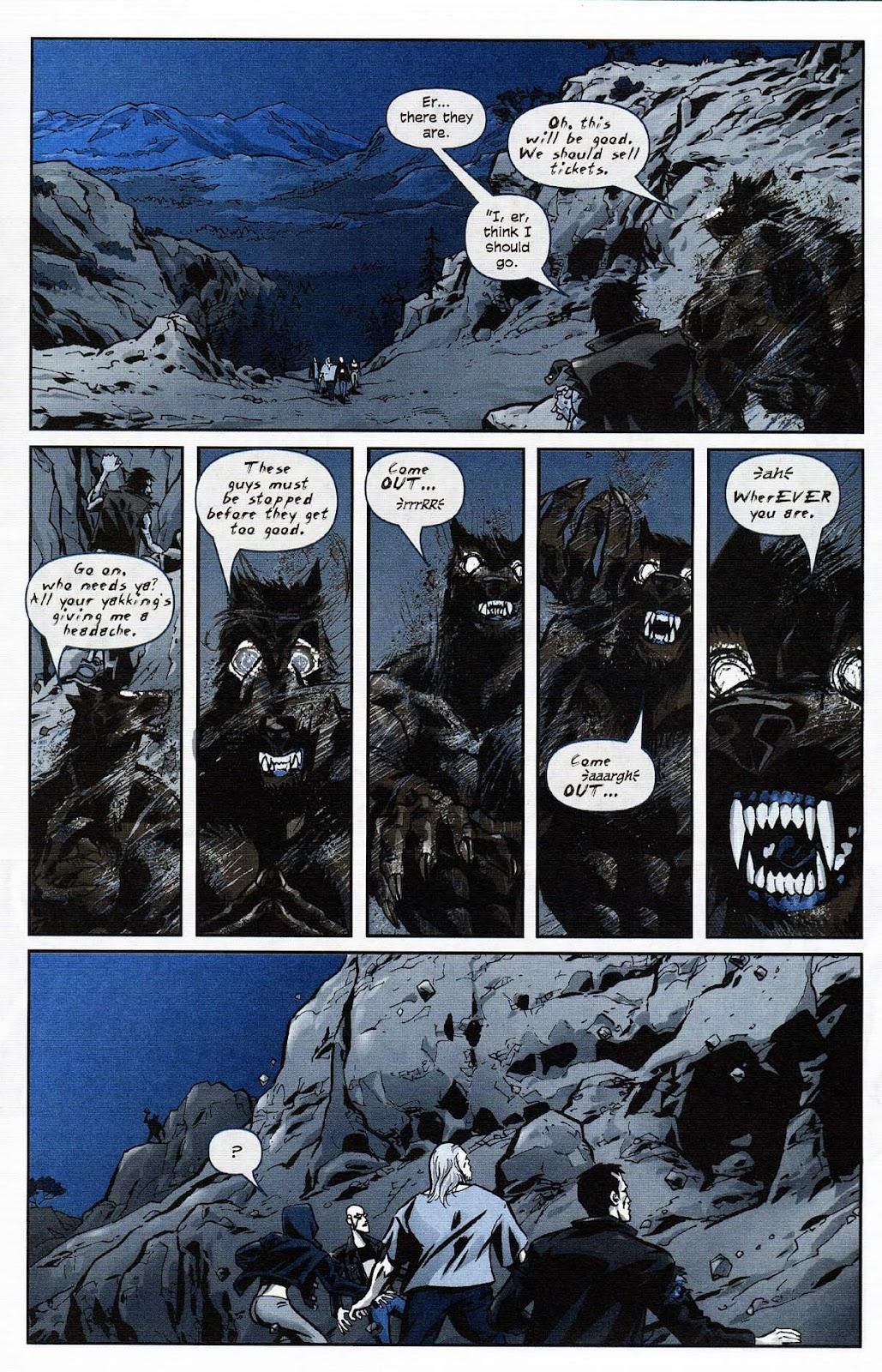Read online Werewolf the Apocalypse comic -  Issue # Get of Fenris - 29