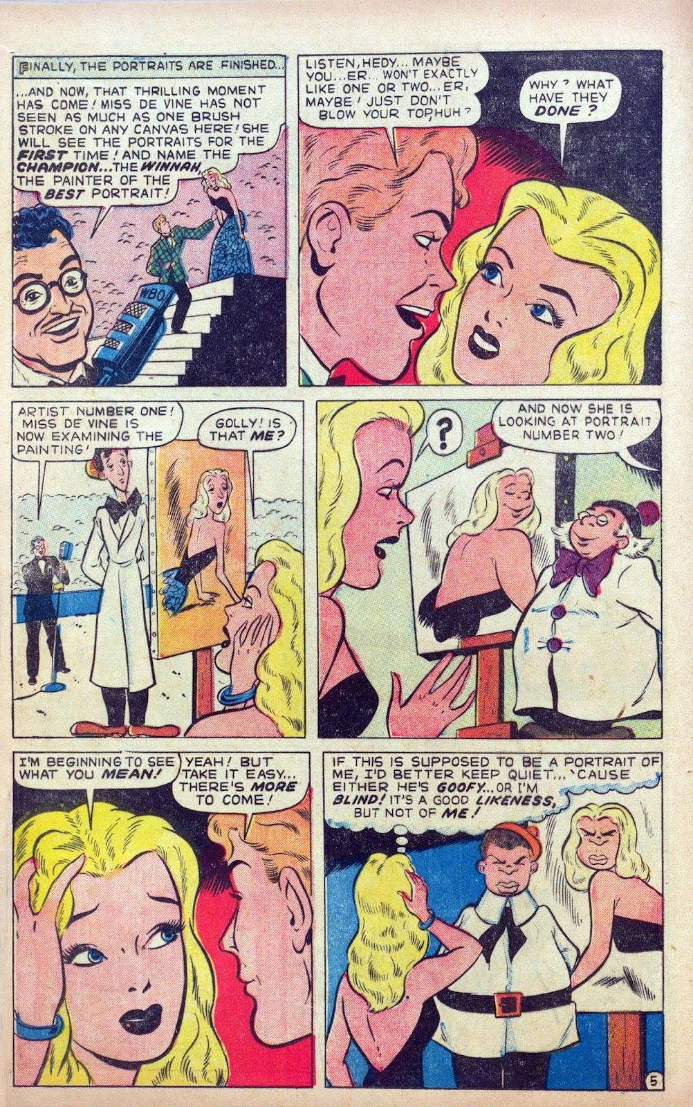 Hedy De Vine Comics issue 31 - Page 16