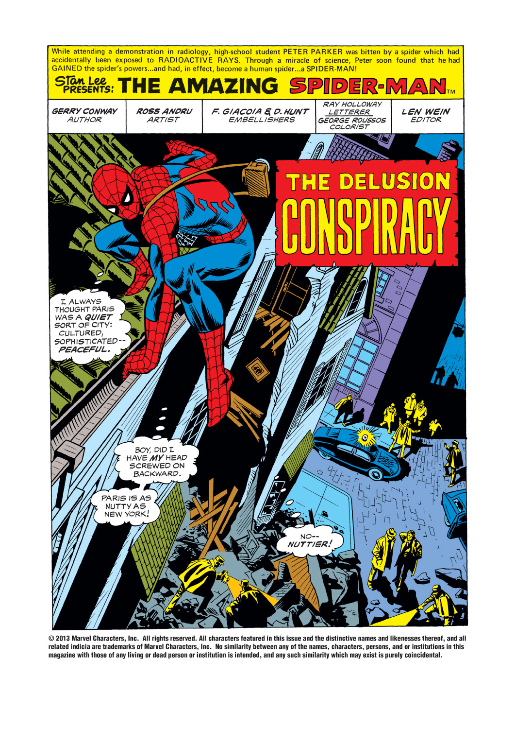 The Amazing Spider-Man (1963) 144 Page 1