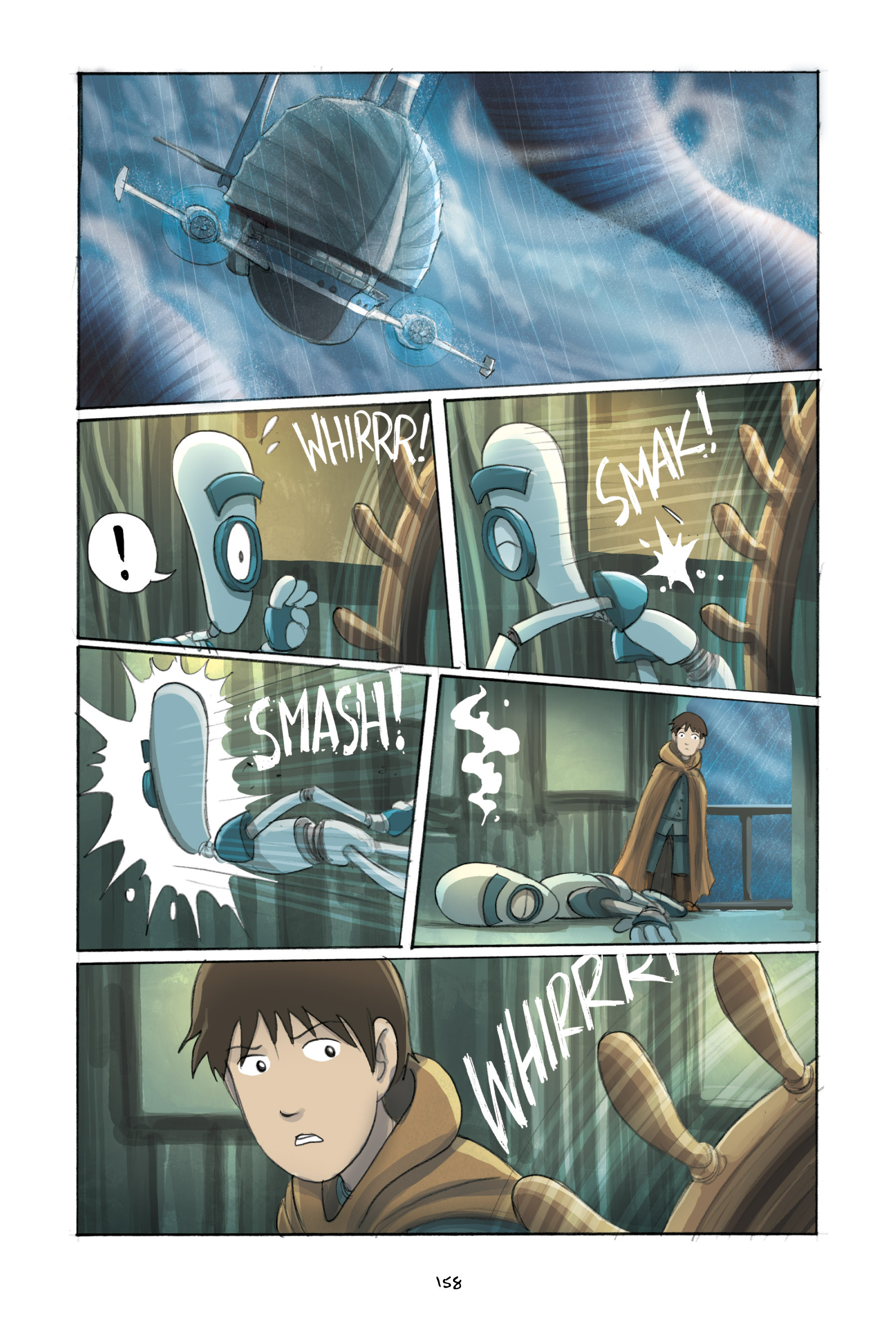 Read online Amulet comic -  Issue #3 - 154