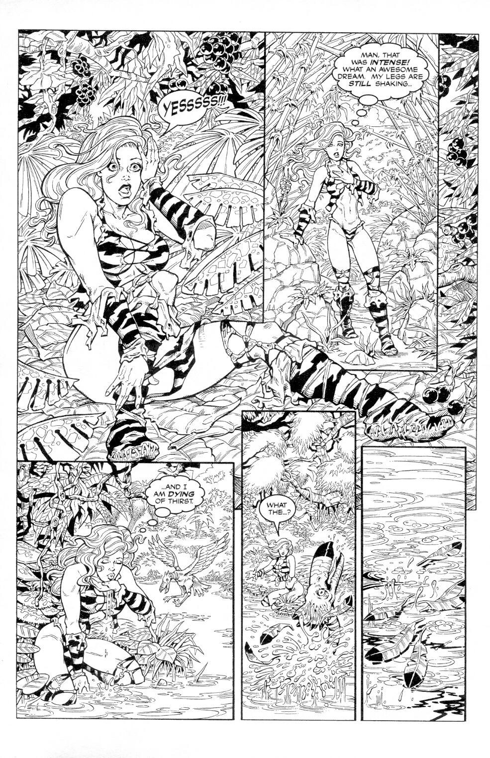 Read online Jungle Fantasy (2002) comic -  Issue #3 - 8