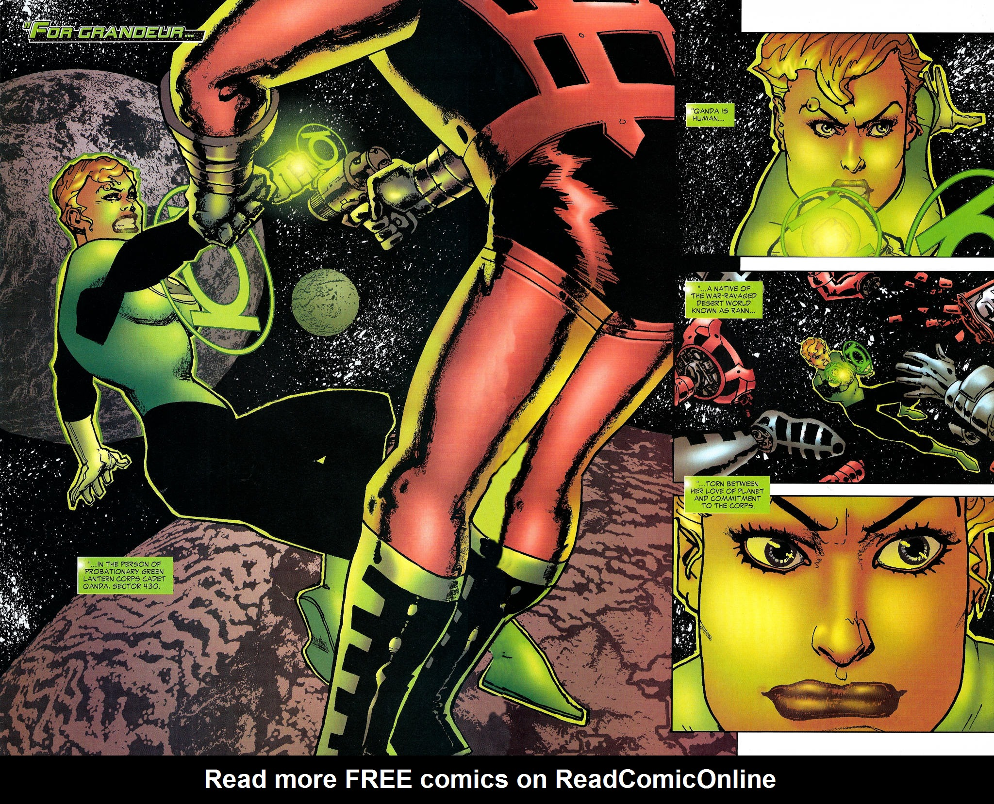 Read online Guy Gardner: Collateral Damage comic -  Issue #1 - 6