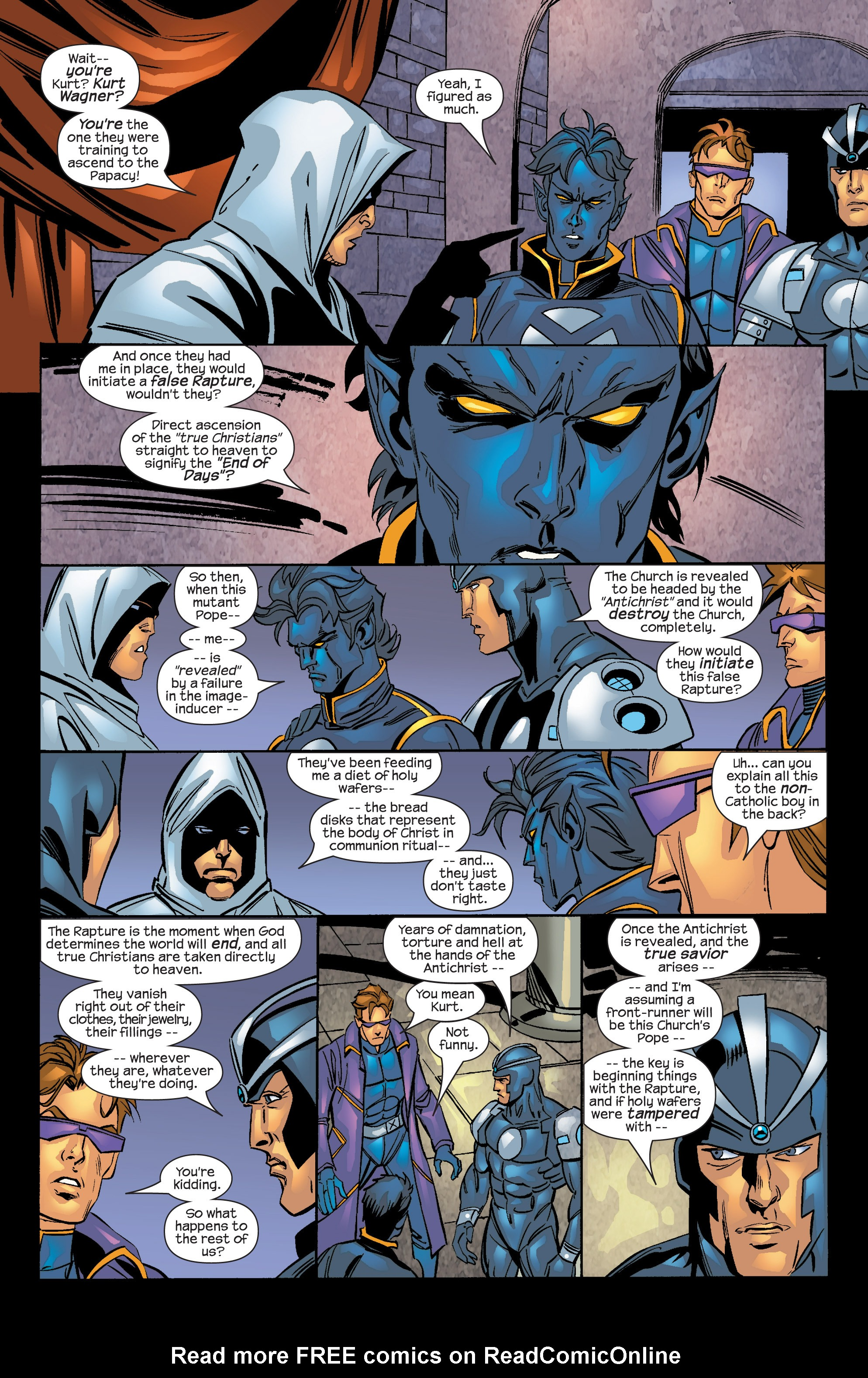 Read online Uncanny X-Men (1963) comic -  Issue #424 - 19