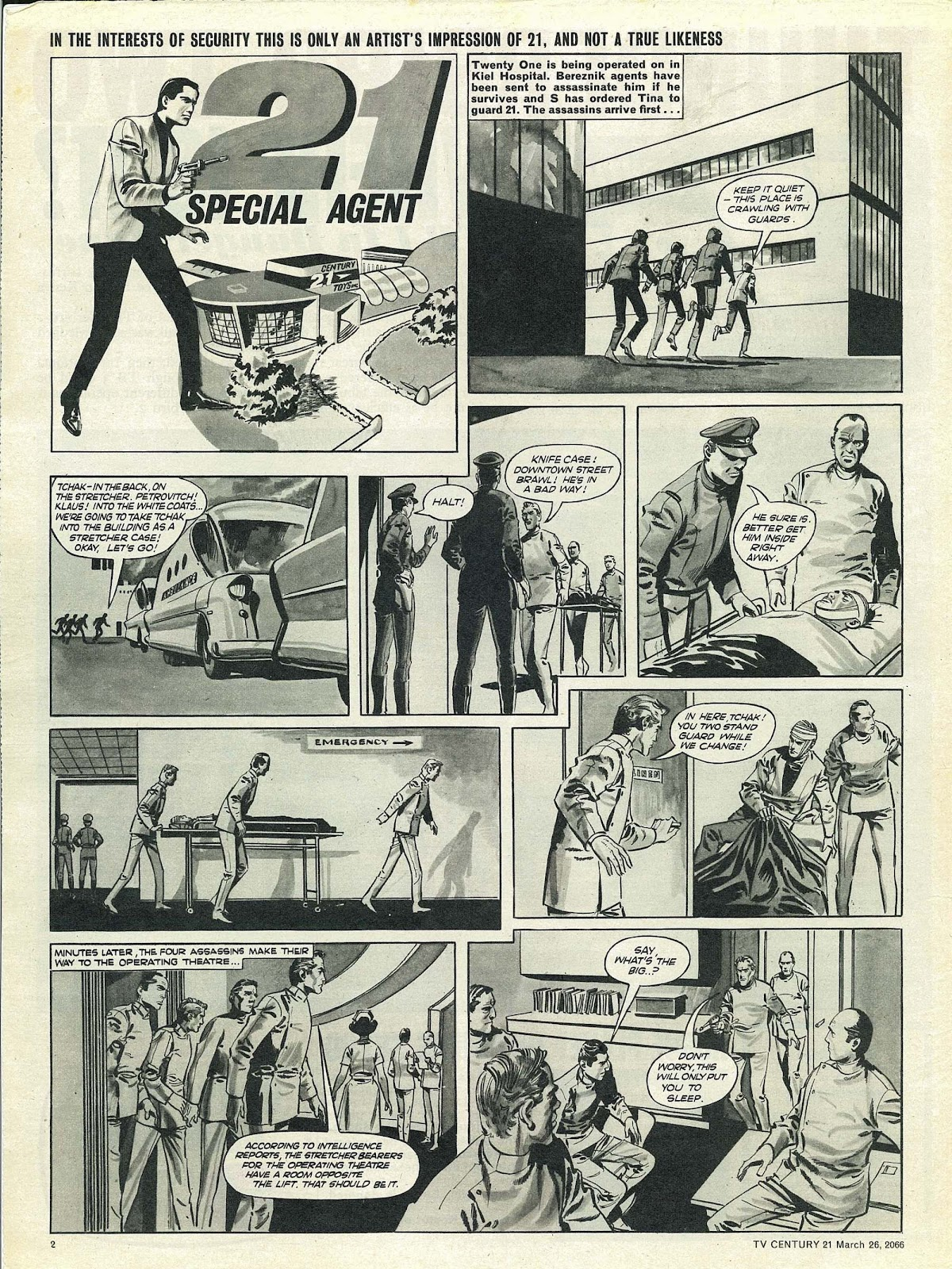 TV Century 21 (TV 21) issue 62 - Page 2