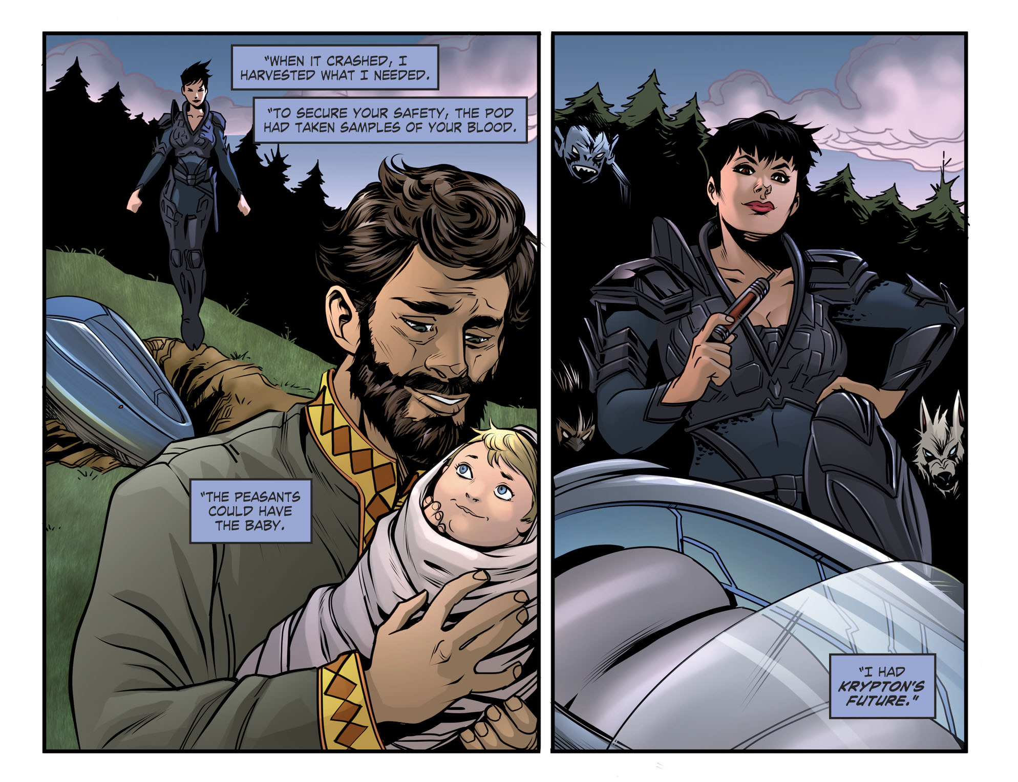 Read online DC Comics: Bombshells comic -  Issue #94 - 15