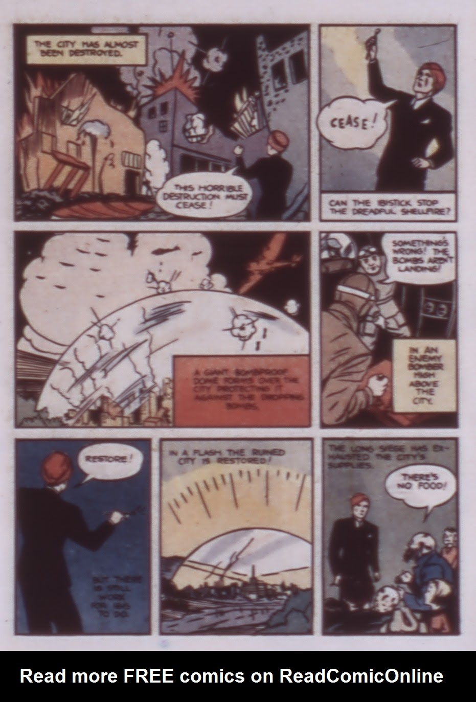 Read online WHIZ Comics comic -  Issue #1 - 21
