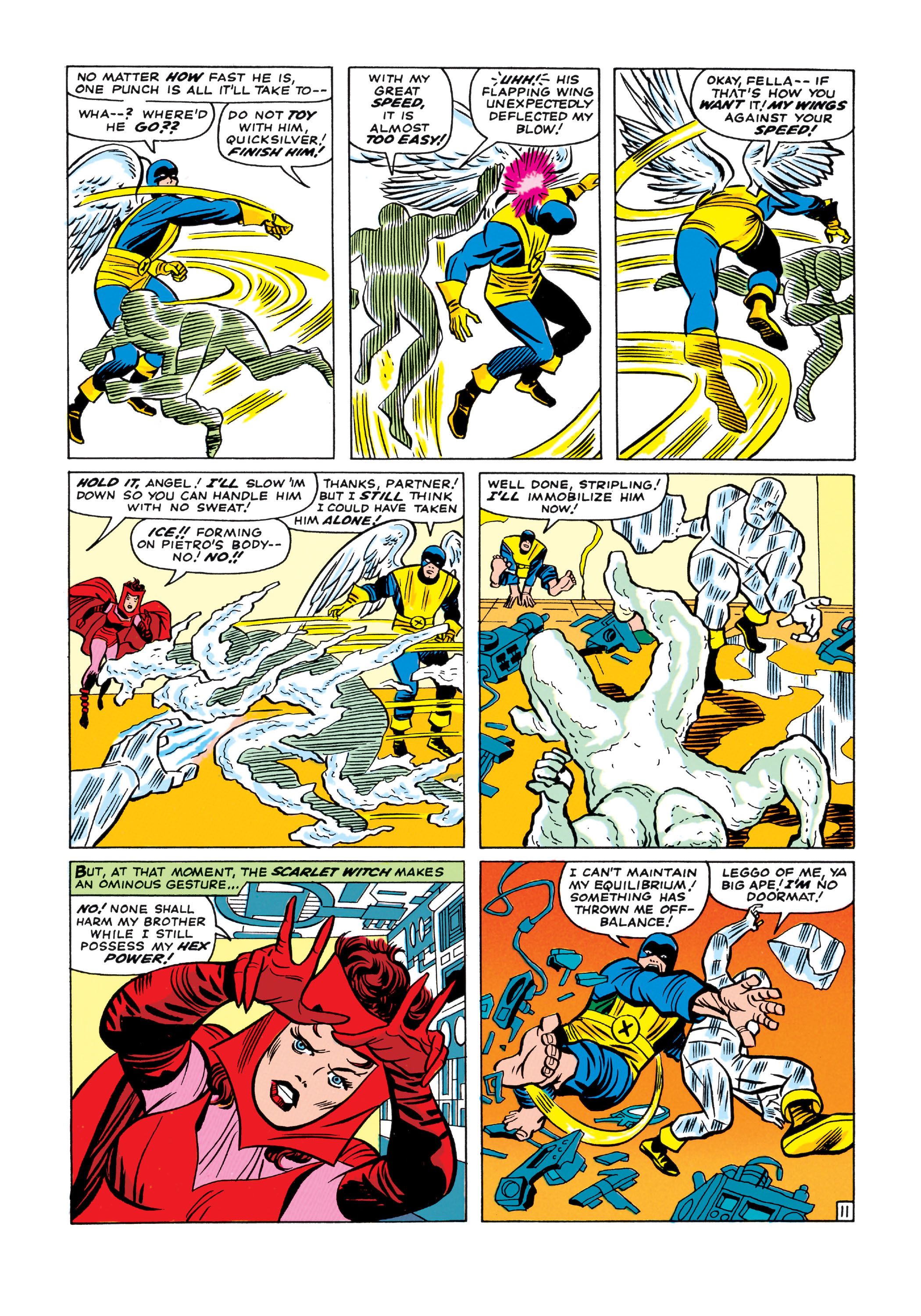 Read online Uncanny X-Men (1963) comic -  Issue #11 - 12