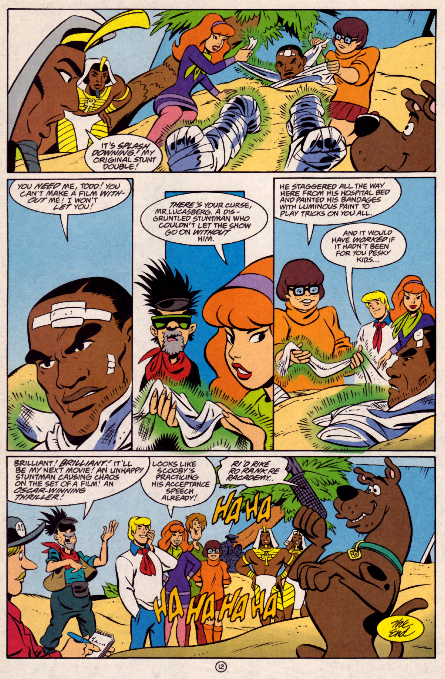 Read online Scooby-Doo (1997) comic -  Issue #32 - 13