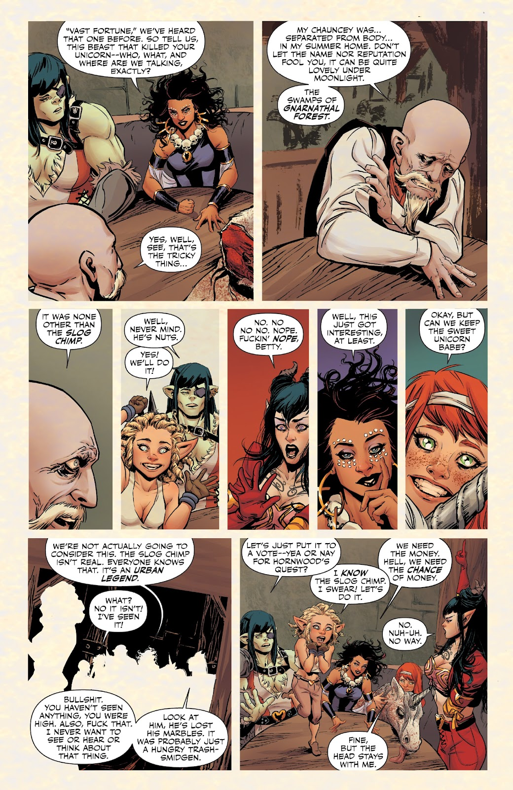 Read online Rat Queens Special: Swamp Romp comic -  Issue # Full - 5