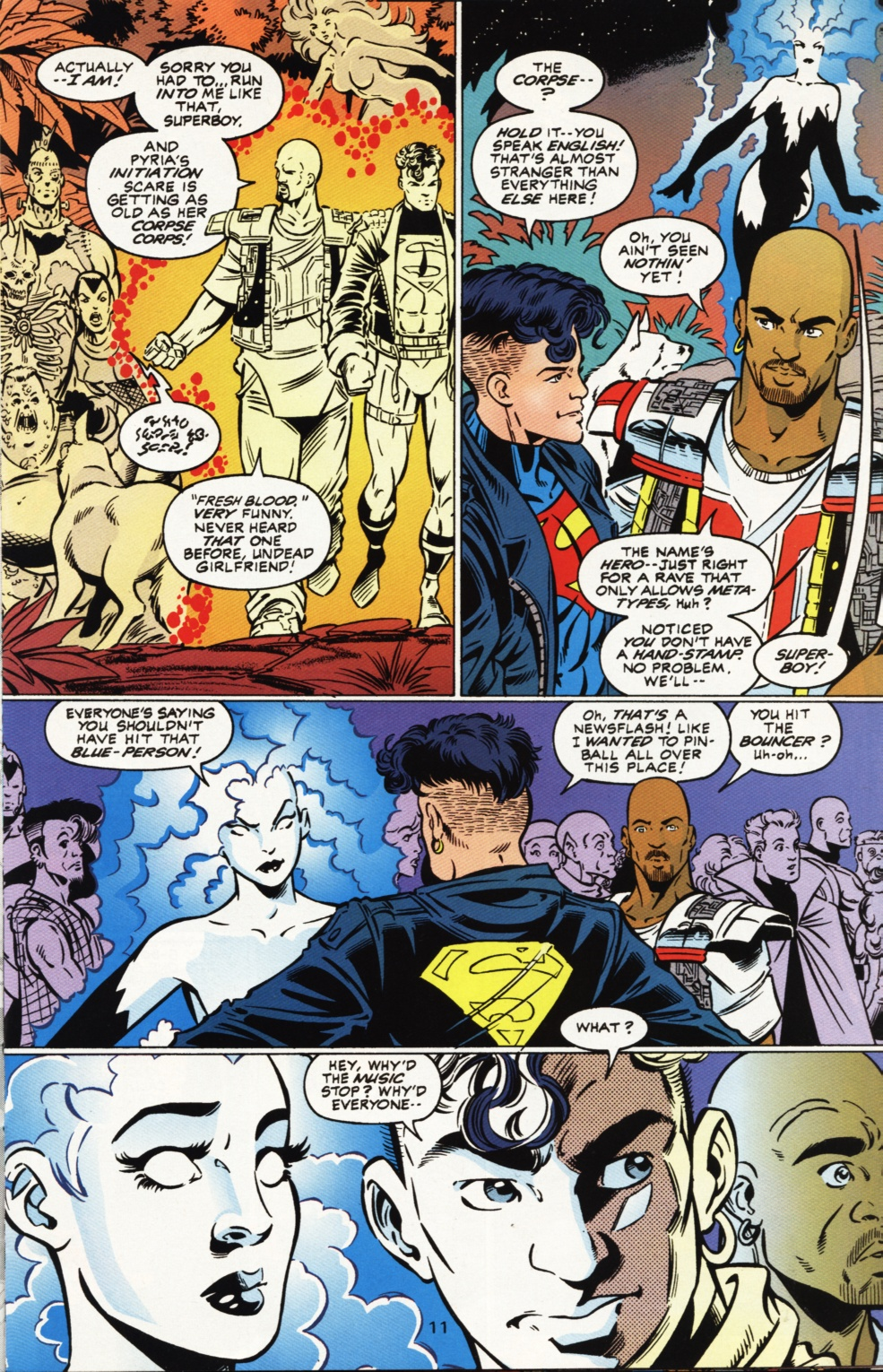 Read online Superboy & The Ravers comic -  Issue #1 - 12
