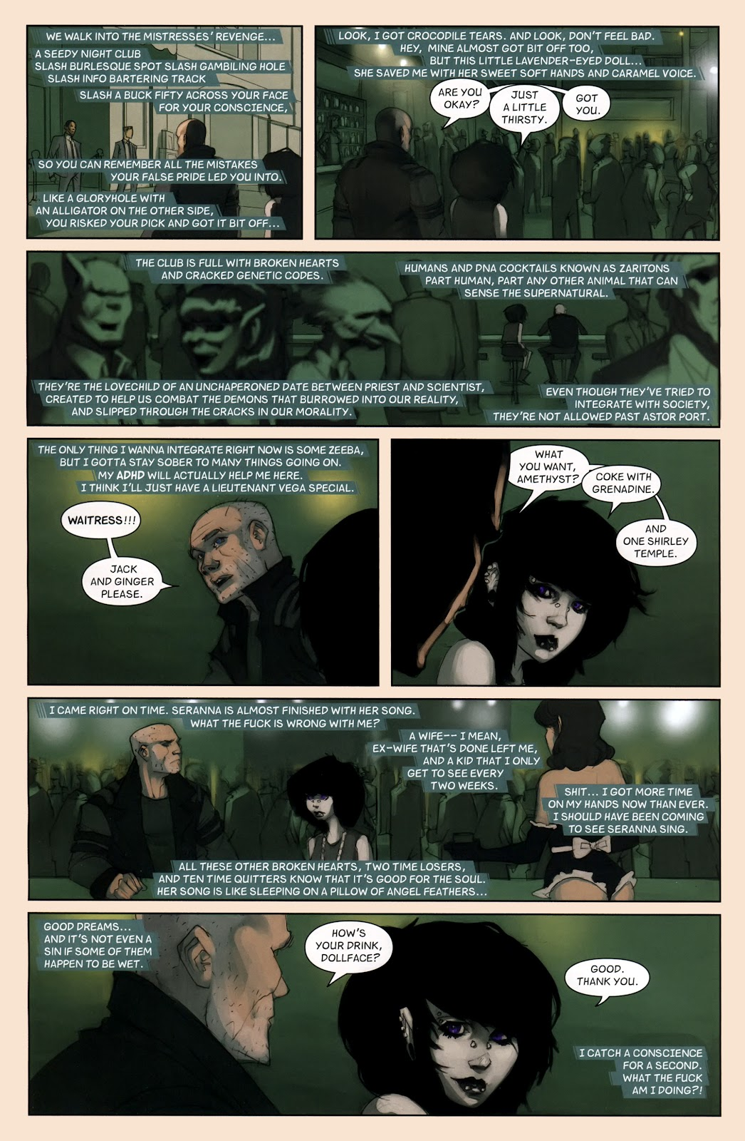 Read online Vescell comic -  Issue #7 - 12