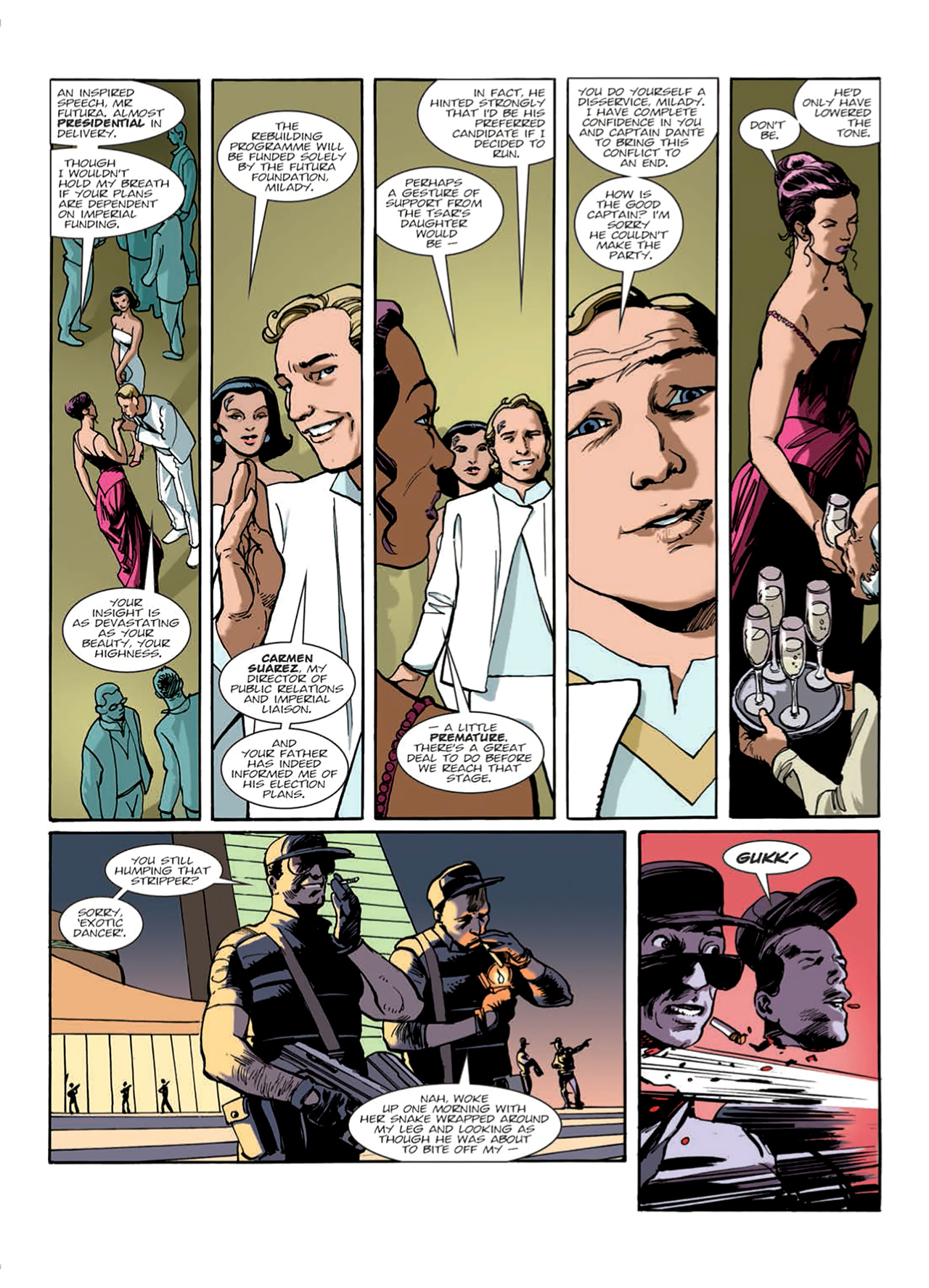 Read online Nikolai Dante comic -  Issue # TPB 9 - 22