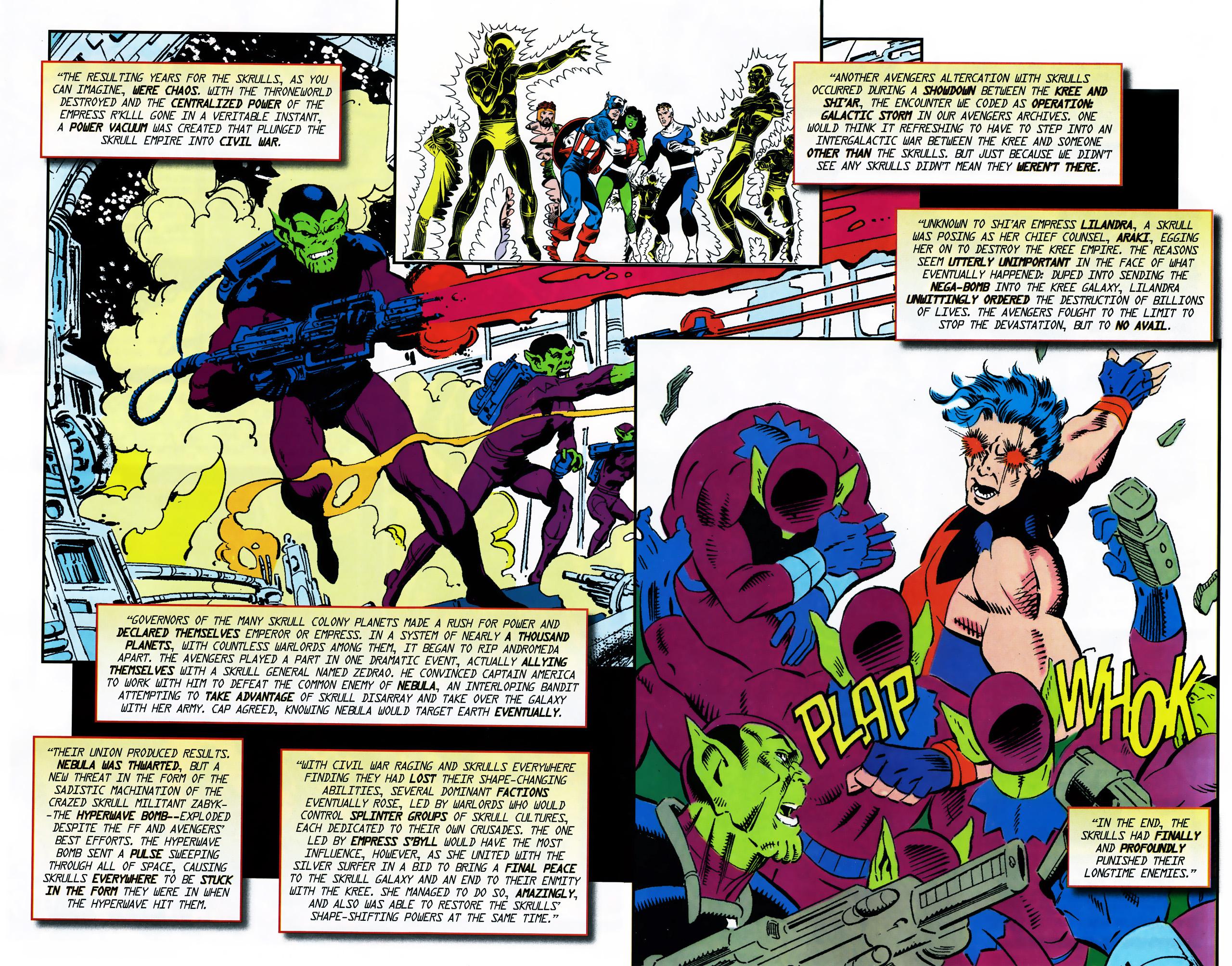Read online Secret Invasion Saga comic -  Issue # Full - 17