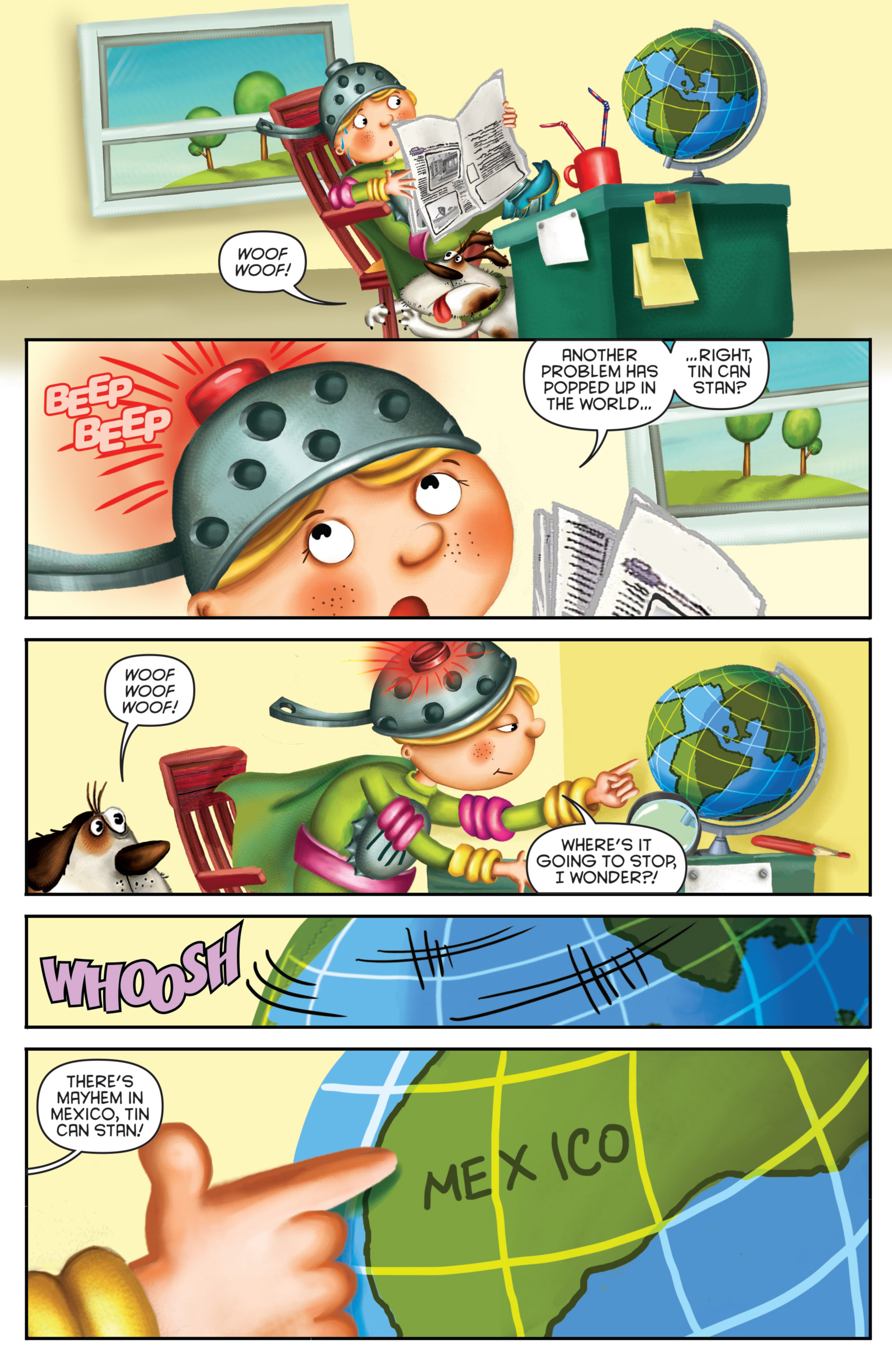 Read online Michael Recycle comic -  Issue #3 - 5