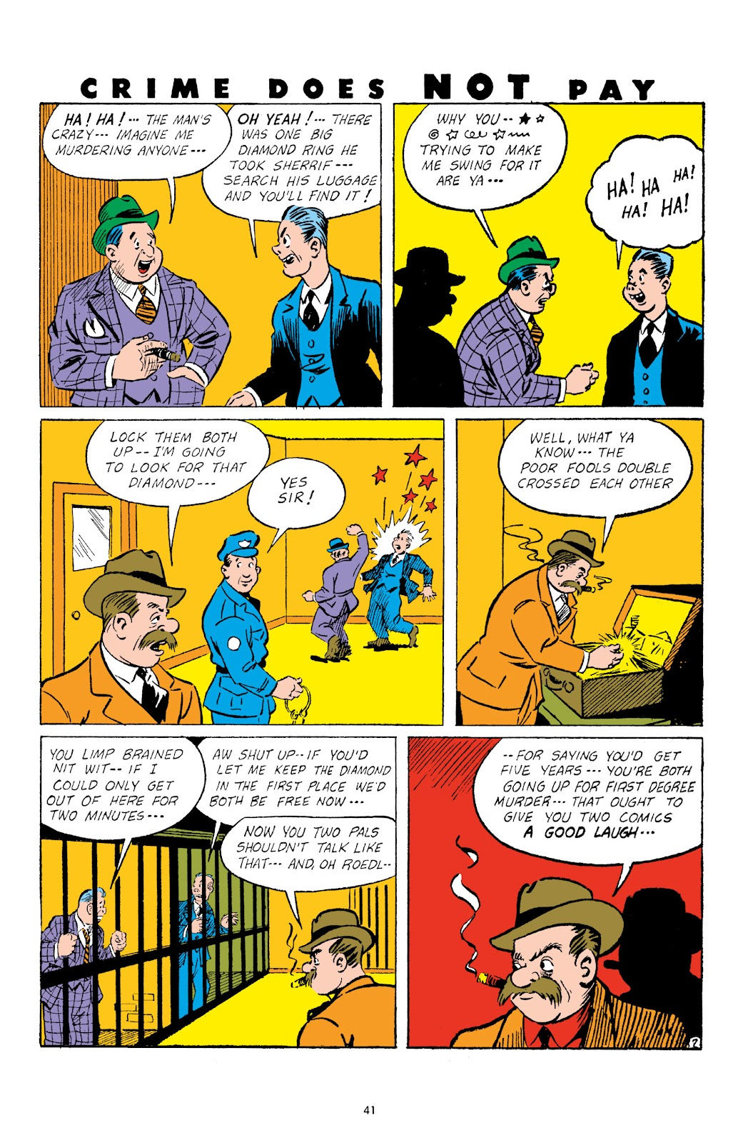 Read online Crime Does Not Pay Archives comic -  Issue # TPB 3 (Part 1) - 41
