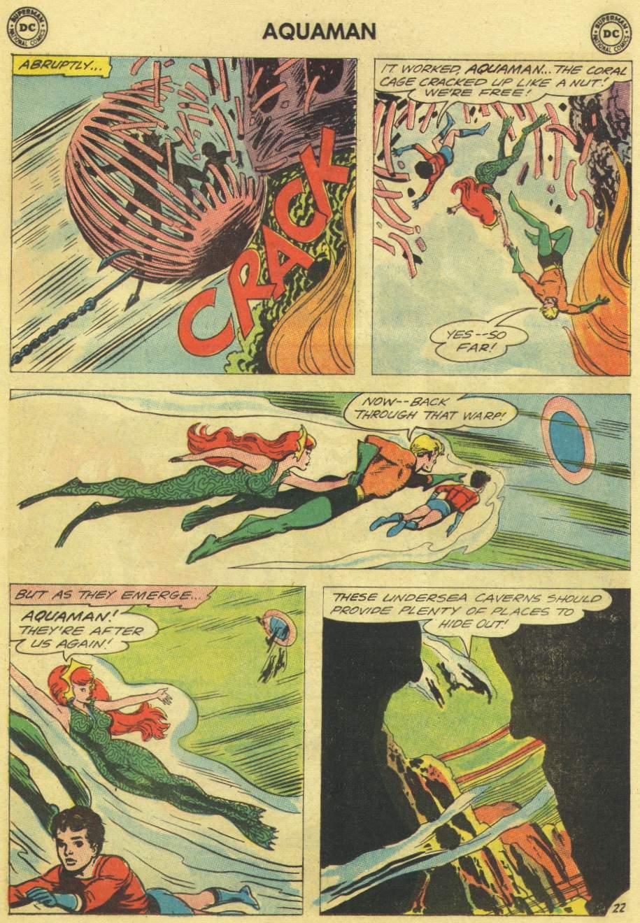 Read online Aquaman (1962) comic -  Issue #11 - 29