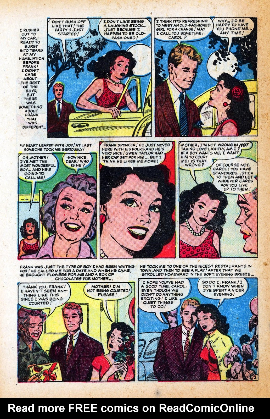 Love Romances (1949) issue 47 - Page 28