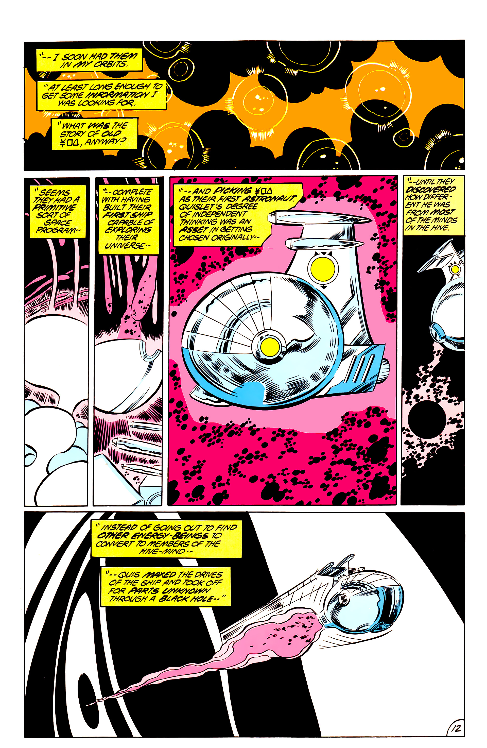 Legion of Super-Heroes (1984) 44 Page 12