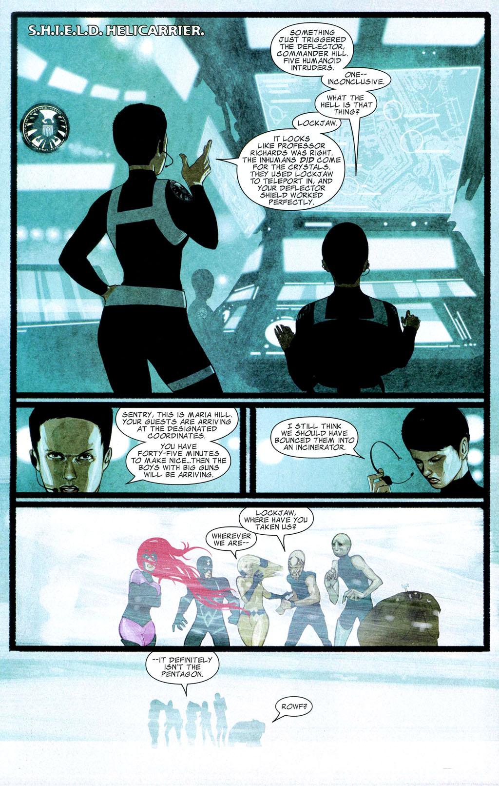 Read online Silent War comic -  Issue #2 - 16
