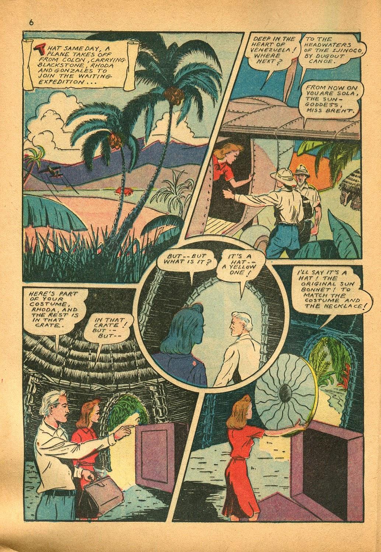 Read online Super-Magician Comics comic -  Issue #9 - 6