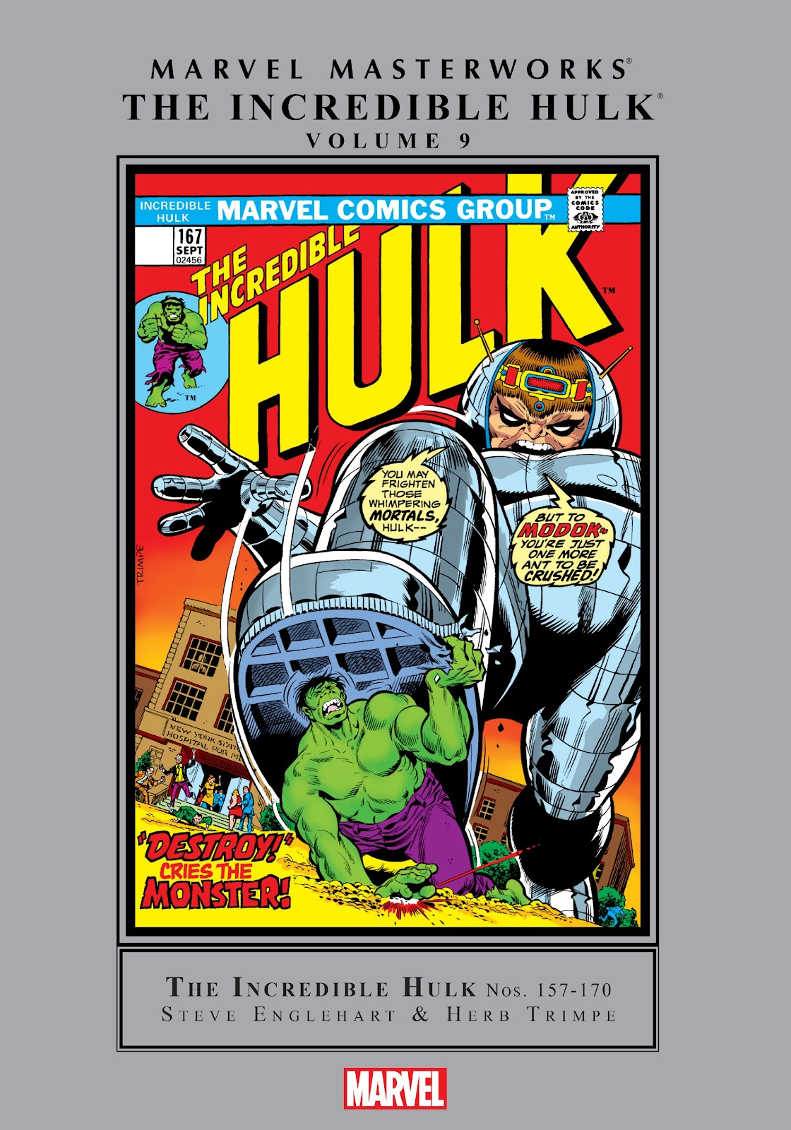 Read online Marvel Masterworks: The Incredible Hulk comic -  Issue # TPB 9 (Part 1) - 1