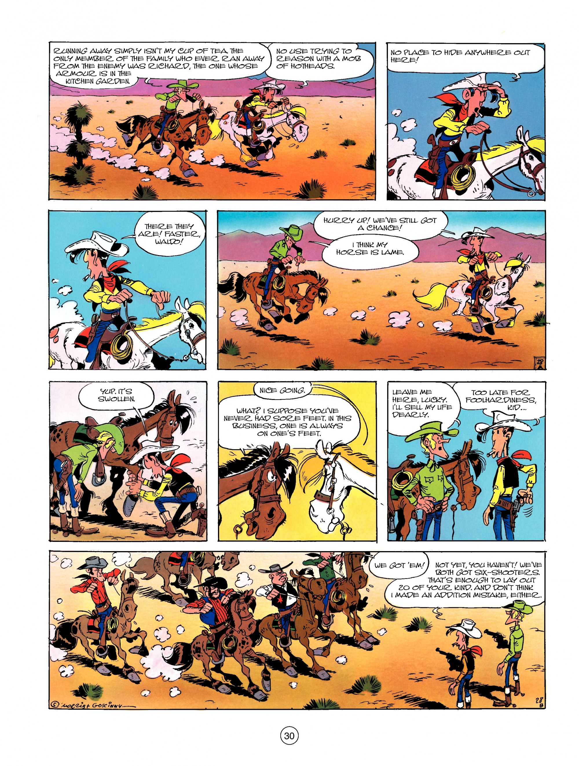 Read online A Lucky Luke Adventure comic -  Issue #13 - 30