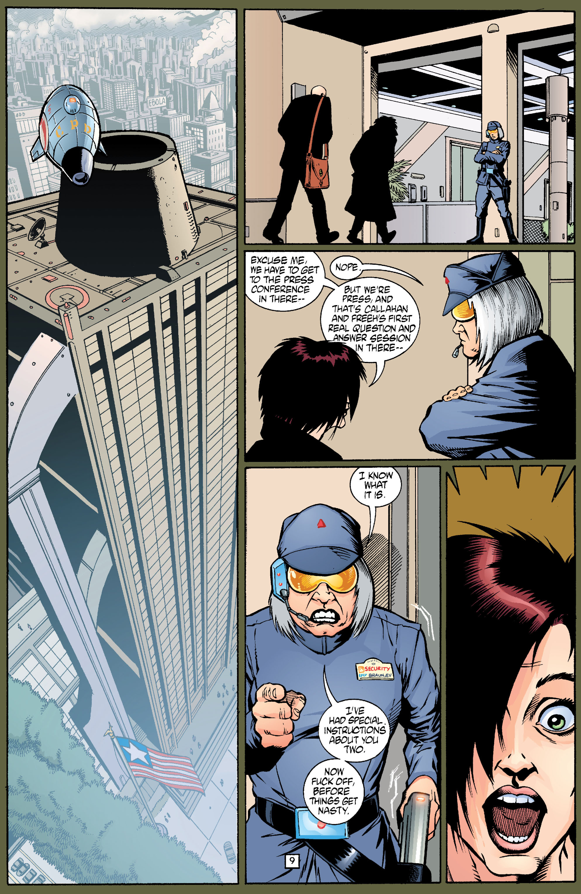 Read online Transmetropolitan comic -  Issue #18 - 10
