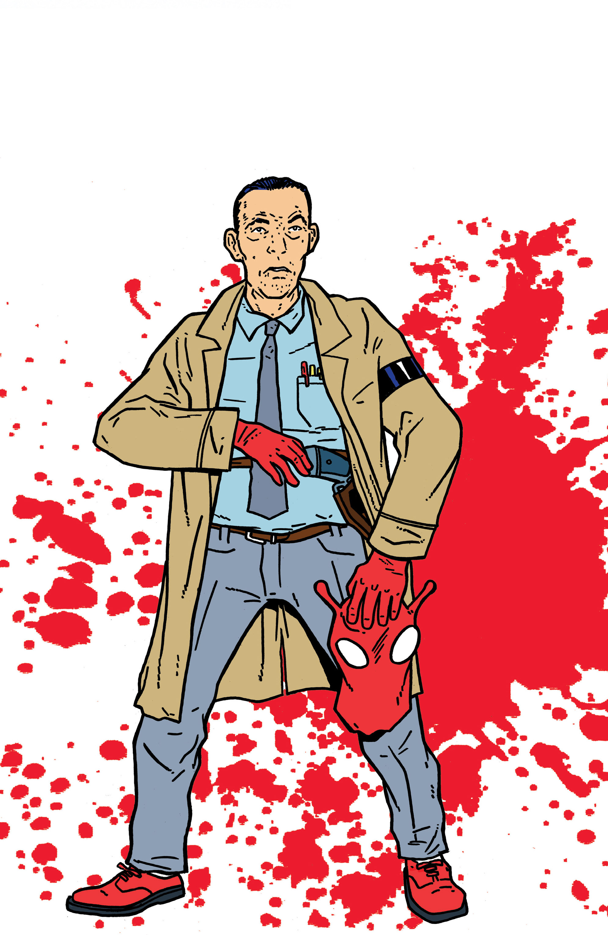 Read online Bulletproof Coffin: The Thousand Yard Stare comic -  Issue # Full - 31