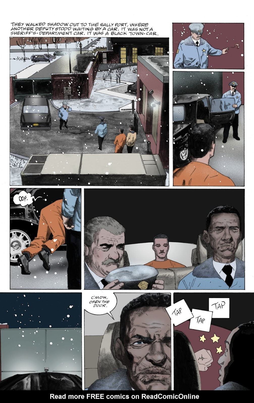 American Gods: My Ainsel issue 9 - Page 16