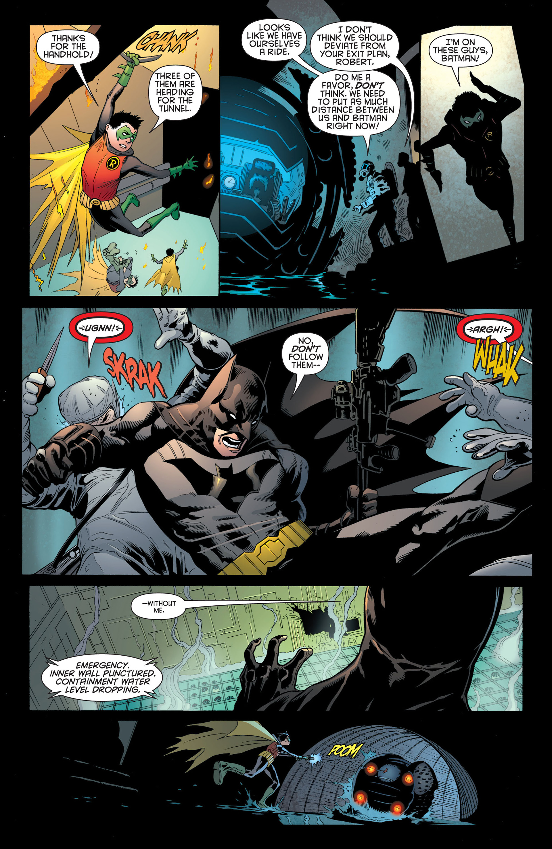 Read online Batman and Robin (2011) comic -  Issue #1 - 16