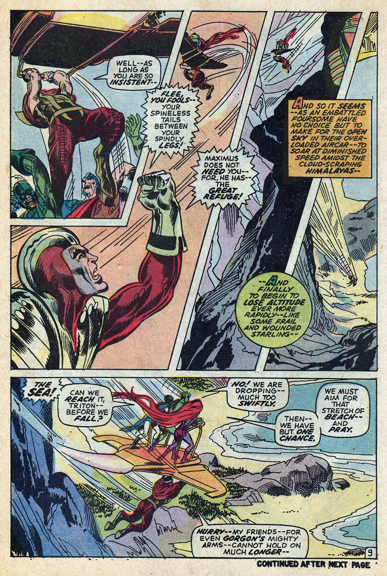 Read online Amazing Adventures (1970) comic -  Issue #6 - 14